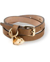 Alexander McQueen Skull Detail Bracelet - Lyst