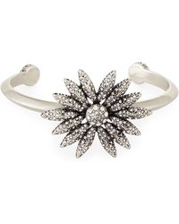 House of Harlow 1960 - Kaleidoscope Crystal Cuff Bracelet - Lyst