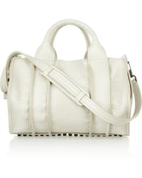 Alexander Wang The Rocco Inside Out Textured-Leather Tote - Lyst