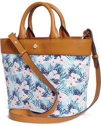 Brooks Brothers Hibiscus Print Tote - Lyst