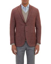 Barneys New York Tweed Twobutton Sportcoat - Lyst