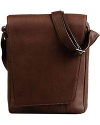 Mh Way Cross-Body Bag - Brown