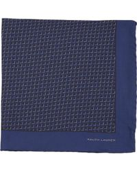Ralph Lauren Black Label - Graphic Pocket Square - Lyst