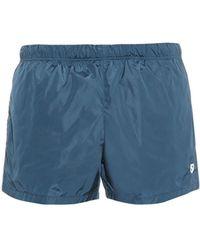 Gucci Subtle-Shine Swim Shorts blue - Lyst