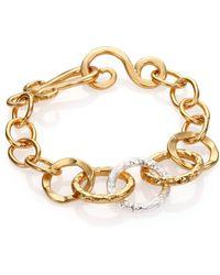 Stephanie Kantis Rhapsody Mixed Link Bracelet - Lyst