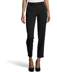 Halston Heritage Skinny Fit Tailored Suiting Pants black - Lyst