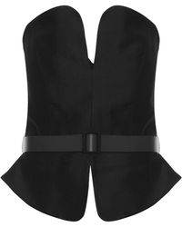 Martin Grant Rounded Strapless Bustier - Lyst