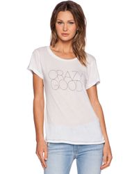 All Things Fabulous - Crazy Good Tee - Lyst