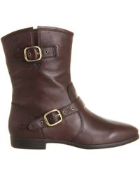 Ugg Frances Buckle Boot - Lyst