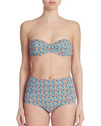 Marc Jacobs - Lucy Underwire Bandeau Bikini Top - Lyst