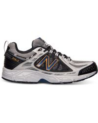 New Balance Men'S 510 Trail Running Sneakers From Finish Line - Lyst