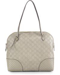 Gucci Bree Ssima Leather Shoulder Bag - Lyst