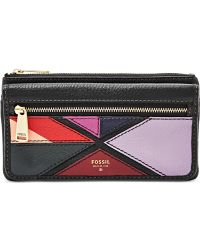 Fossil | Preston Patchwork Flap Clutch Wallet | Lyst