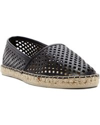 Dolce Vita Perforated Espadrille Flats - Lyst