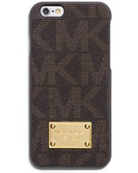 Michael Kors Logo Phone Case For Iphone 6 - Lyst