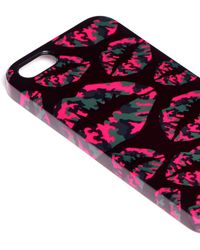 Markus Lupfer - Camouflage Smacker Lip Print Iphone 5/5s Case - Lyst