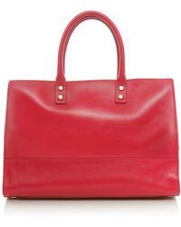 Lulu Guinness Smooth Daphne Shopper Bag - Lyst