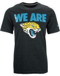 Nike Mens Jacksonville Jaguars Team Verbiage T-shirt - Lyst
