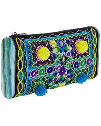 Edie Parker Jumbo Lara Embroidery Clutch - Lyst