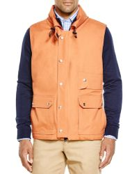 Survivalon | Knox Lined Snap Front Vest | Lyst