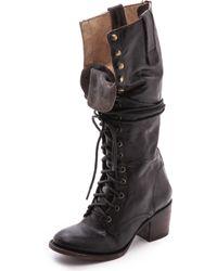 Freebird By Steven Brek Harness Boots - Black - Lyst