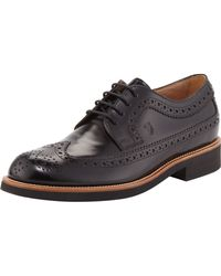 Tod's Lightsole Leather Wingtip - Lyst