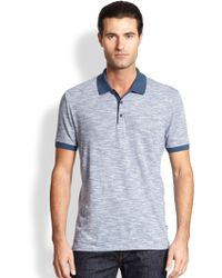 Hugo Boss Janis Flame Striped Polo - Lyst