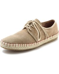 Seavees 07/60 Sorrento Sand Shoes - Natural