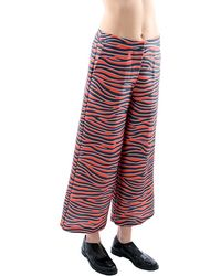 House of Holland Pantalone-Rossonero red - Lyst