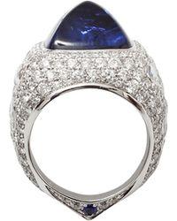 Inbar Sugarloaf Sapphire Ring blue - Lyst