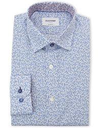 Duchamp | Mini Floral Tailored Fit Dress Shirt | Lyst