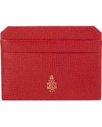 Mark Cross Flat Card Case - Lyst