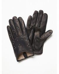 Free People - Heartbreaker Studded Leather Gloves - Lyst