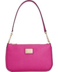 Calvin Klein Aberdeen Saffiano Demi Bag - Lyst