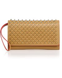 Christian Louboutin | Macaron Studded Leather Wallet | Lyst