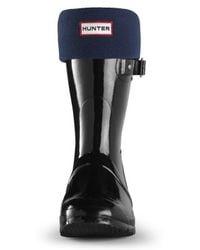 Hunter Short Fleece Welly Socks - Lyst