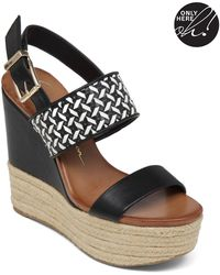 Jessica Simpson Allyn Faux Leather Espadrilles - Lyst