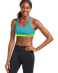 Nike Pro Padded Sports Bra - Lyst