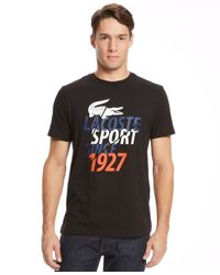 Lacoste Big and Tall Sport Short-sleeve T-shirt - Lyst