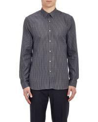 Paul Smith Exclusive Gray Shadowstripe Shirt - Lyst