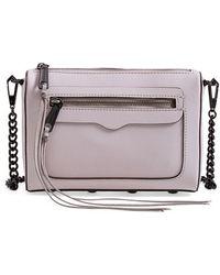 Rebecca Minkoff Avery Leather Cross-Body Bag - Lyst
