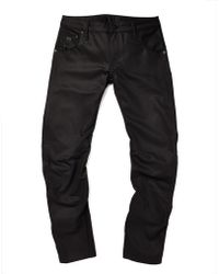 The Idle Man G Star Raw For The Oceans Arc 3D Slim Jeans black - Lyst
