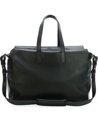 Alexander McQueen Mens Leather Perforated-skull Duffel Bag - Lyst