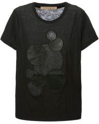 Christopher Kane Black Molecules T-Shirt - Lyst