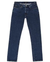 Paul Smith Straight-Fit Mid-Wash Blue Jeans - Lyst
