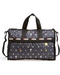 LeSportsac - X Peanuts 'medium Weekend' Bag - Lyst