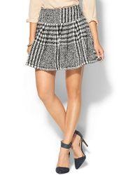 JOA Brushed Plaid Skirt - Lyst