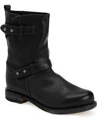 Rag & Bone Moto Boot black - Lyst