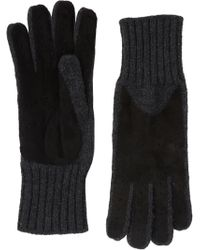 Barneys New York Driving Gloves - Lyst