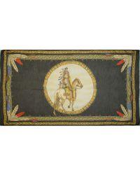 Versace Indiano Print Pashmina - Lyst